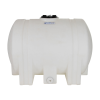 """55 Gallon Natural Tamco® Leg Tank with 5"""" Lid & 3/4"""" Side Fitting - 35"""" L x 23-1/2"""" W x 25"""" Hgt."""