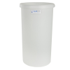 "5 Gallon Natural Polyethylene Tank - 10"" Dia. x 15"" High"