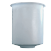 "500 Gallon Domed Bottom Polyethylene Tank - 54"" Dia. x 65"" High"