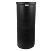 "105 Gallon Black Heavy Weight Tank - 24"" Dia. x 58"" High (Cover Sold Separately)"