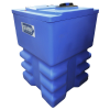 "Gemini2 120 Gallon Blue Square Dual Containment Tank - 32"" L x 32"" W x 49"" Hgt."