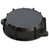 "9"" Cap without Port and Gasket Assembly (Viton™)"