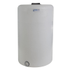 """130 Gallon Tamco® Vertical Natural PE Tank with 8"""" Lid & 2"""" Fitting - 30"""" Dia. x 47"""" High"""