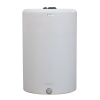 """300 Gallon Tamco® Vertical Natural PE Tank with 8"""" Lid & 2"""" Fitting - 40"""" Dia. x 61"""" High"""