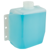 """3 Quart Natural Multi Purpose Tank with Mounting Tabs - 8.63"""" L x 4.25"""" W x 7.63"""" Hgt. (2.25"""" Neck)"""