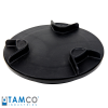 "8"" Threaded Lid & Ring Assembly for Tamco® Tanks"