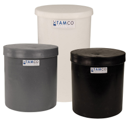 Tamco® Polyethylene Plating Tanks with Covers