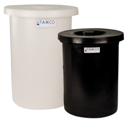 Tamco® One-Piece Molded Polyethylene Crocks with Covers