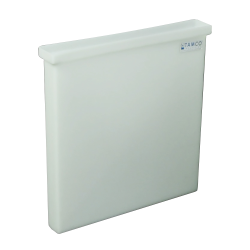 "3 Gallon Natural Polyethylene Tamco® Tank - 18"" L x 2"" W x 18"" Hgt. (Cover Sold Separately)"