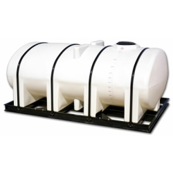 Free Standing  Horizontal Bulk Storage Tanks with Sumps