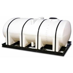 Free Standing  Horizontal Bulk Storage Tanks with Sumps