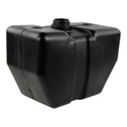 """4 Gallon Black Tank 14"""" L x 7.5"""" W x 10.62"""" Hgt. (2.25"""" Neck)"""