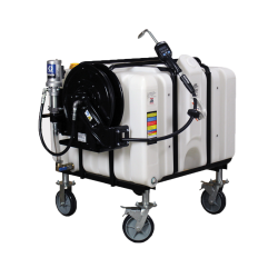 120 Gallon Portable Dispensing System with Side Mount Pump