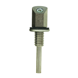 Single Jet Washer Nozzle Single with 45° Angle Face