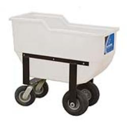 """Deluxe 3.5 Bushel Feed Cart  40"""" L x 18"""" W x 36"""" H"""