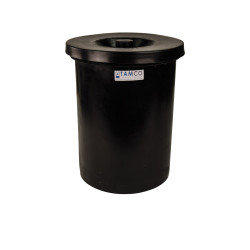 "6 Gallon Black Crock - 11"" Dia. x 16"" High"