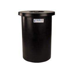 "11 Gallon Black Crock - 13"" Dia. x 20"" High"