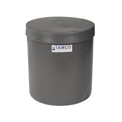 "3-1/2 Gallon Slate Gray Plating Tank 10"" Dia. x 11"" High"