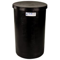 """5 Gallon Black Plating Tank 10"""" Dia. x 16"""" High"""