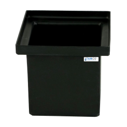 Tamco® Black Heavy Duty Polyethylene Tanks with Internal Flanges