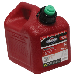 1 Gallon Standard Red Polyethylene Gas Can