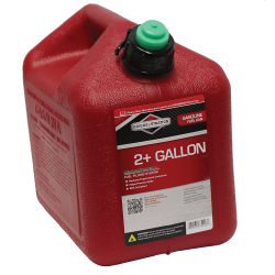 2 Gallon Standard Red Polyethylene Gas Can