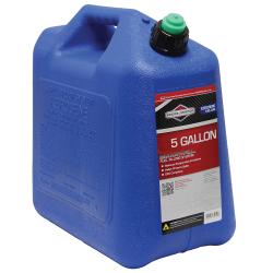 5 Gallon Standard Blue Polyethylene Kerosene Fuel Can