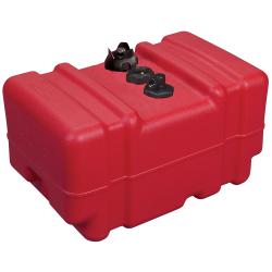 12 Gallon Red Polyethylene Tall Portable Fuel Tank