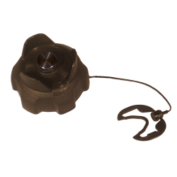 Black EPA Approved Fuel Cap with Tether