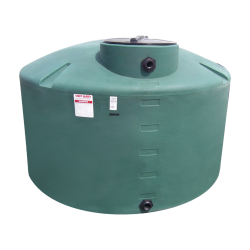 "45 Gallon Green Water Tank - 18"" Dia. x 51"" H"