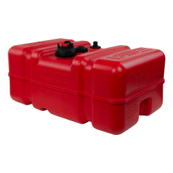 9 Gallon Red Polyethylene Fuel Tank with Handle