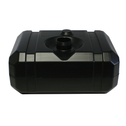 "12 Gallon CARB/EPA Black Tank with 3.5"" Neck - ID 2.97"" x 22.72"" L x 17"" W x 10"" Hgt."