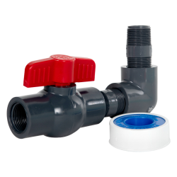 "3/4"" Tamco® Cone Bottom Valve Kit"
