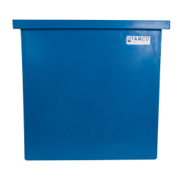 """30 Gallon Blue LLDPE Tamco® Aquaculture/Aquaponics Tank - 24"""" L x 12"""" W x 24"""" Hgt."""