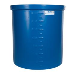 """15 Gallon Blue LLDPE Tamco® Aquaculture/Aquaponics Tank - 18"""" L x 12"""" W x 18"""" Hgt."""