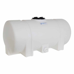 """25 Gallon Natural Tamco® Leg Tank with 5"""" Lid & 3/4"""" Side Fitting - 37"""" L x 16"""" W x 17"""" Hgt."""