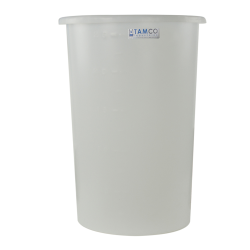 "45 Gallon Natural Tapered Tank - 24"" Diameter x 34"" High"