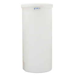 "40 Gallon Polyethylene Tank - 19"" Dia. x 40"" High"