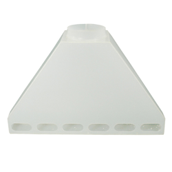 Tamco® Polypropylene Rear Fume Exhaust Hoods