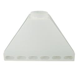 Tamco® Polypropylene Rear Fume Exhaust Hoods