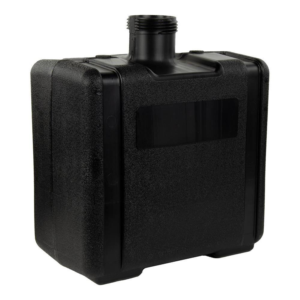 """7 Gallon Black Tank 15"""" L x 8.67"""" W x 16.74"""" Hgt. (3.5"""" Neck)"""