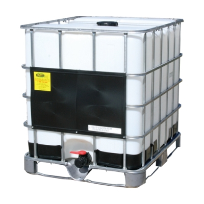 "275 Gallon IBC Tank with Welded Pallet - 48"" L x 40"" W x 46"" H"