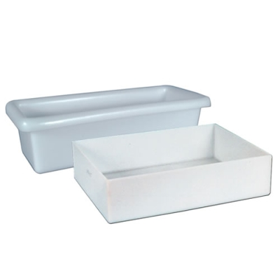 "1-3/4 Gallon Shallow Tray - 16-5/8""L x 12-5/8""W x 3""H"