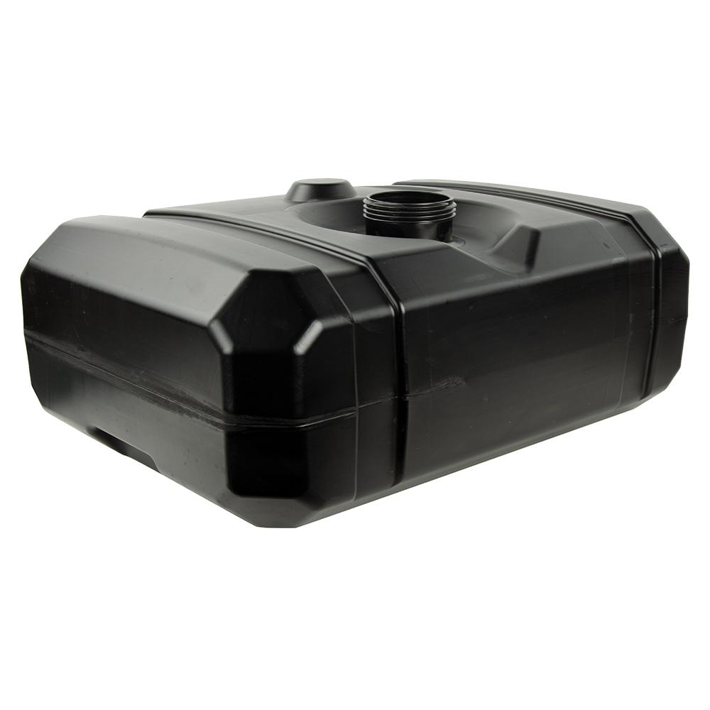 "12 Gallon Black Multi Purpose Tank - 22.72"" L x 17"" W x 10"" Hgt. (3.5"" Neck)"