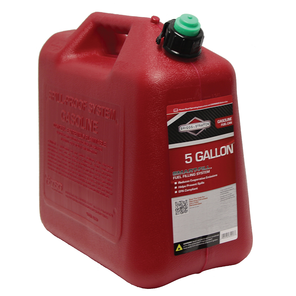 5 Gallon Standard Red Polyethylene Gas Can