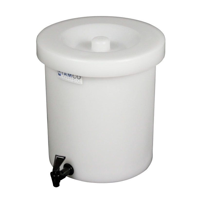 5 Gallon Tamco® Crock with a Fast Draw Off Spigot