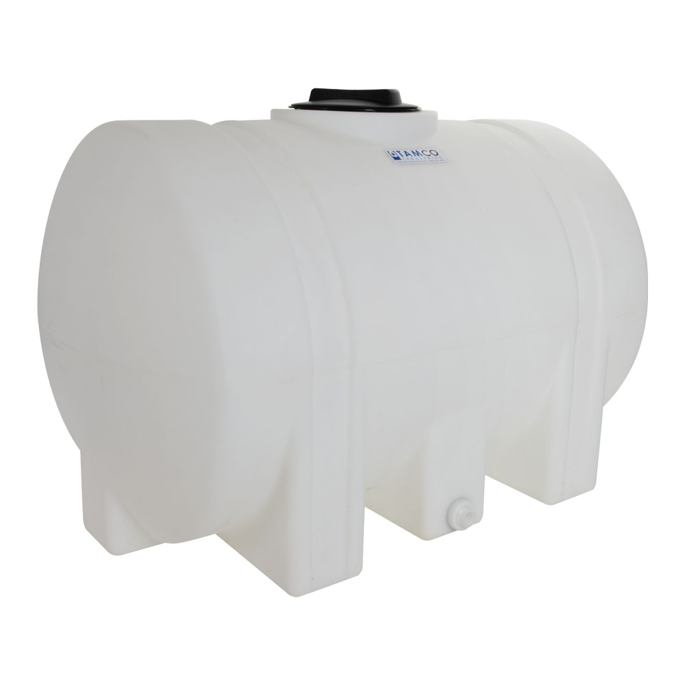 """125 Gallon Natural Tamco® Leg Tank with 8"""" Lid & 3/4"""" Side Fitting - 48"""" L x 29-1/2"""" W x 31"""" Hgt."""