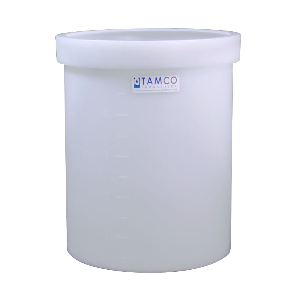 "17 Gallon Polyethylene Tank - 18"" Dia. x 15"" High"