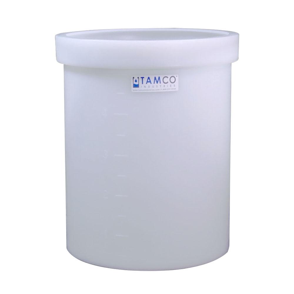 "5 Gallon Polyethylene Tamco® Tank - 11"" Dia. x 14"" Hgt."