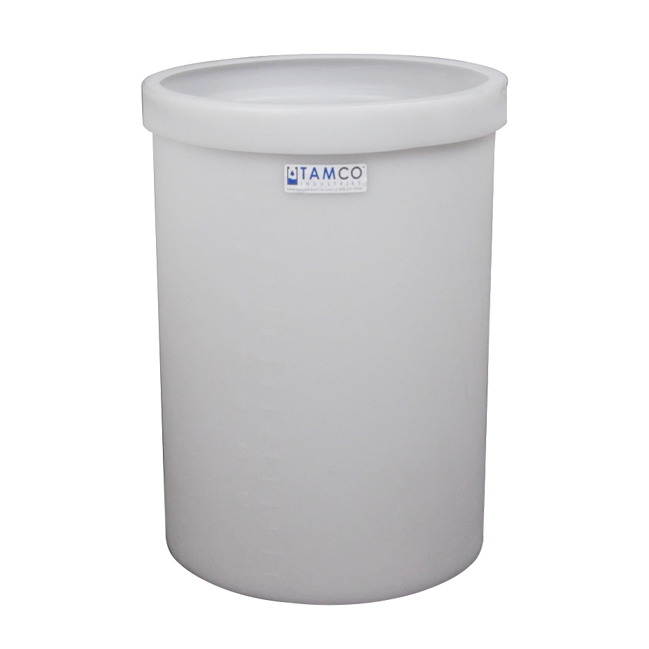 "10 Gallon Polyethylene Tamco® Tank - 13"" Dia. x 19"" Hgt."